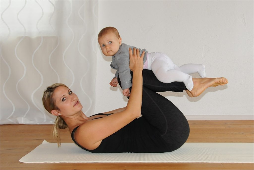 Mama-Baby Yoga mit Marion