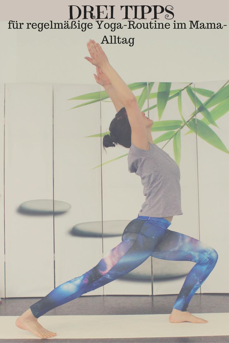 Jeden Tag Yoga... Für viel beschäftige Mamas oft schwierig