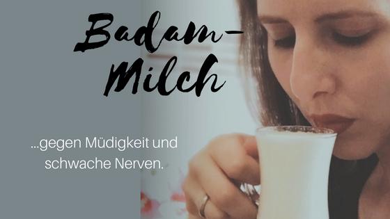 Badam-Milch