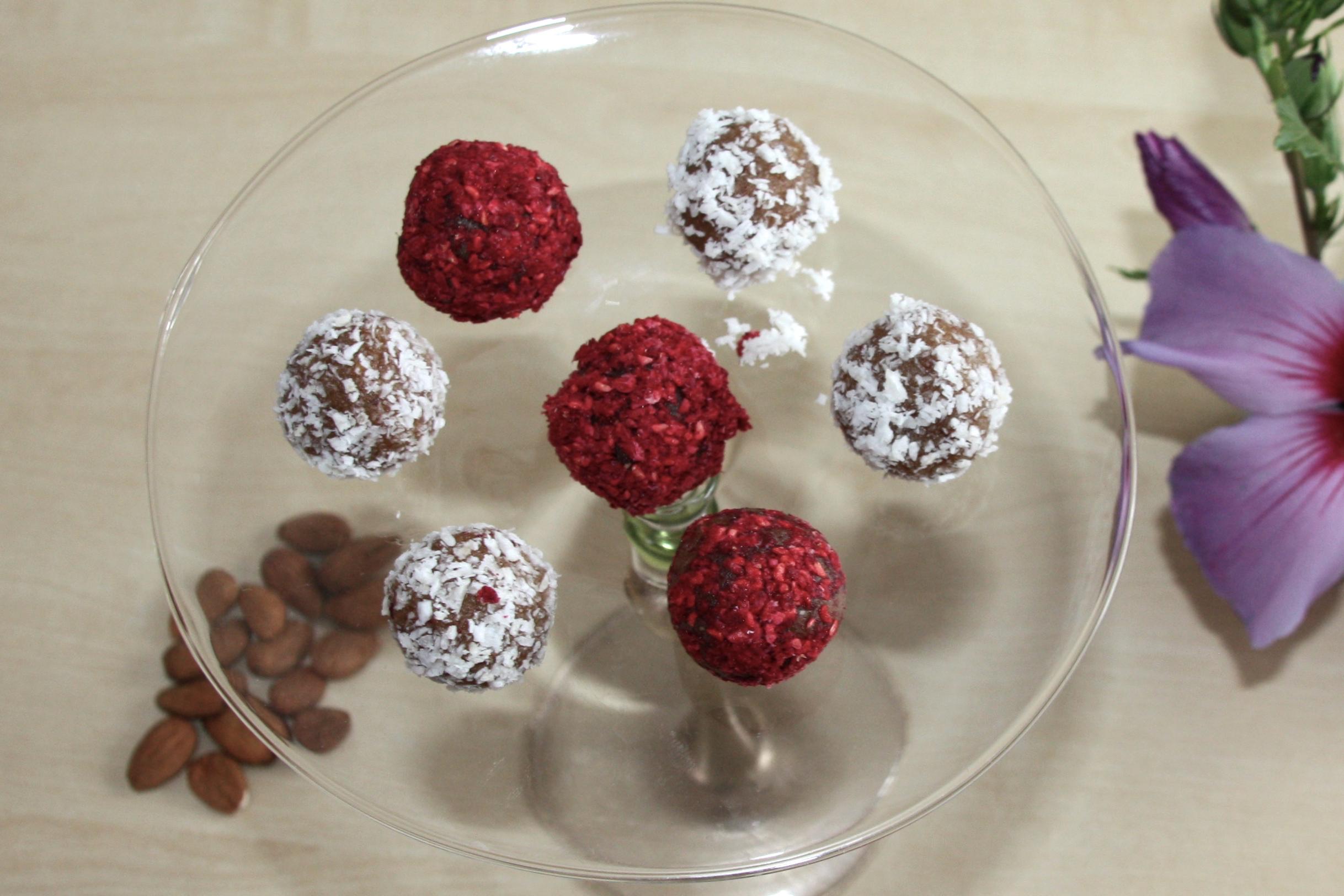 selbst gemachte Pralinen - sehr gesund