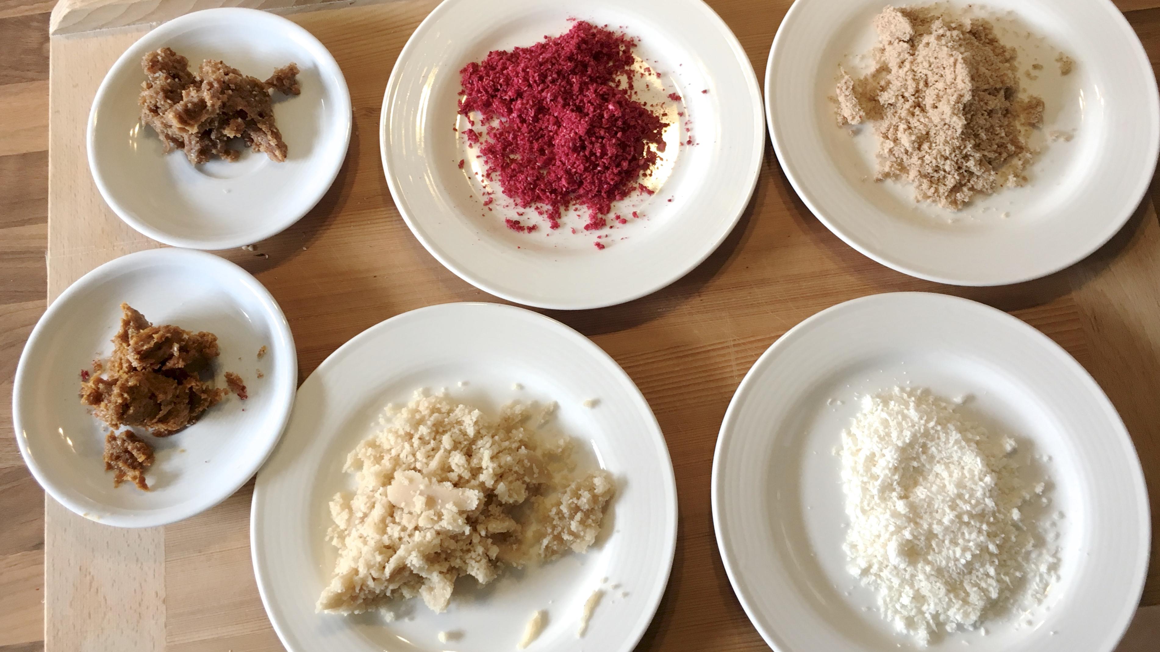 Zutaten für selbst gemachte Pralinen