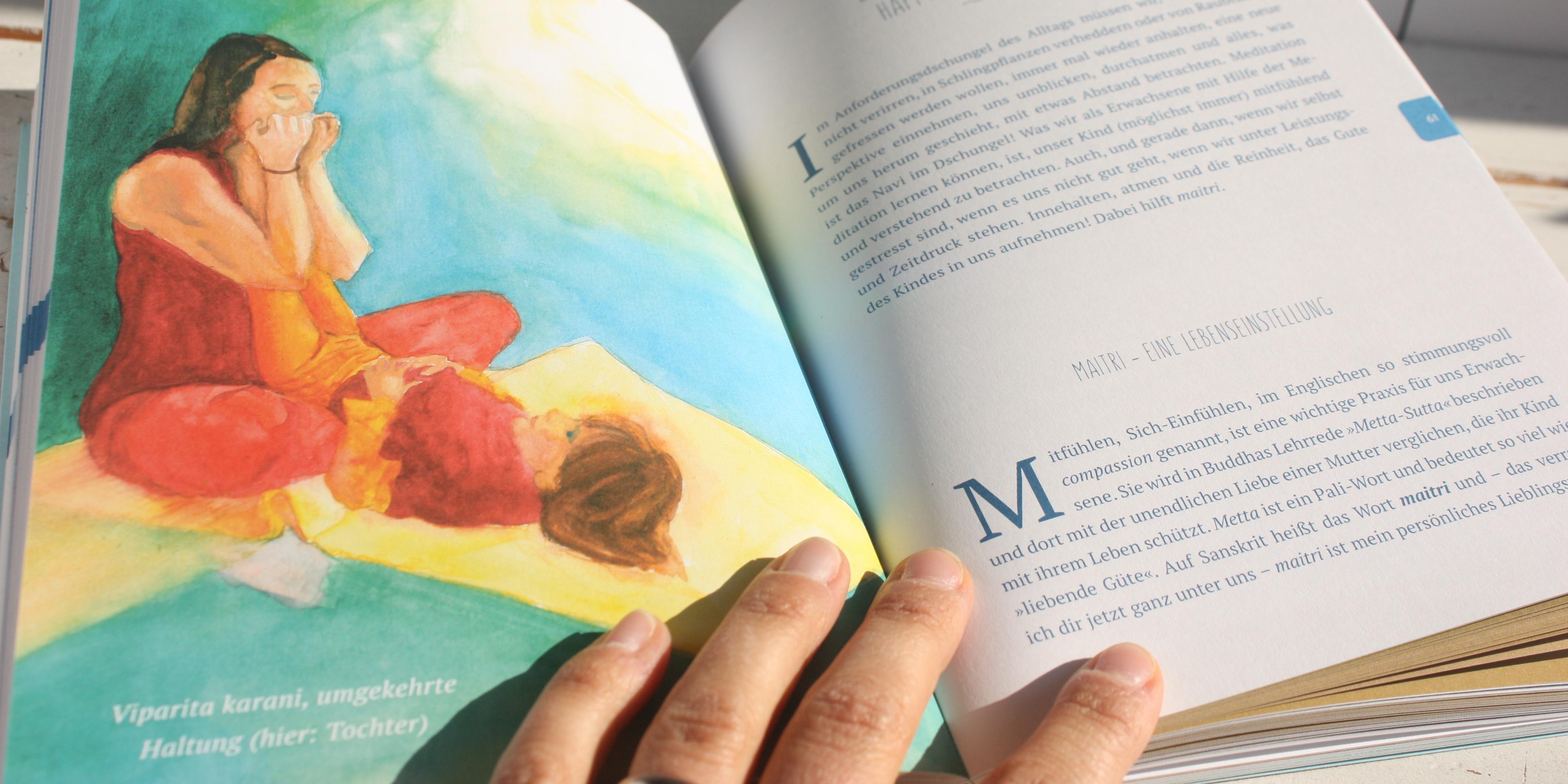 Yoga-Buch für achtsame Eltern