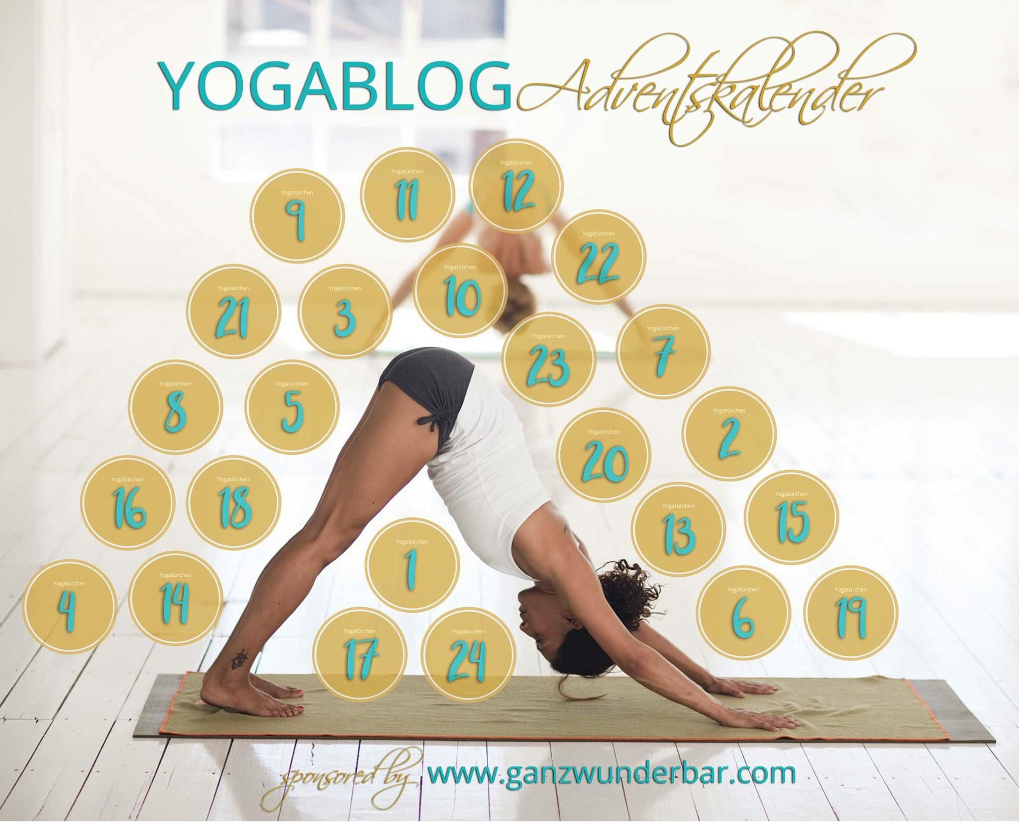 Super Kooperation: der Yogablog-Adventskalender