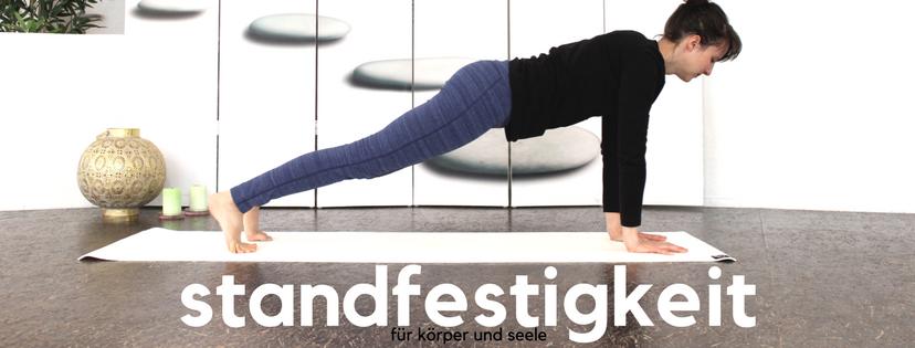 Chaturanga Dandasana - für mehr Standfestigkeit für Körper und Seele