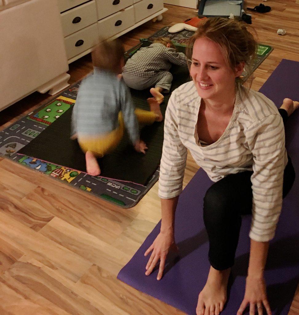 Yoga mit Kindern-Sprinter