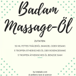 Rezept für Badam-Duft