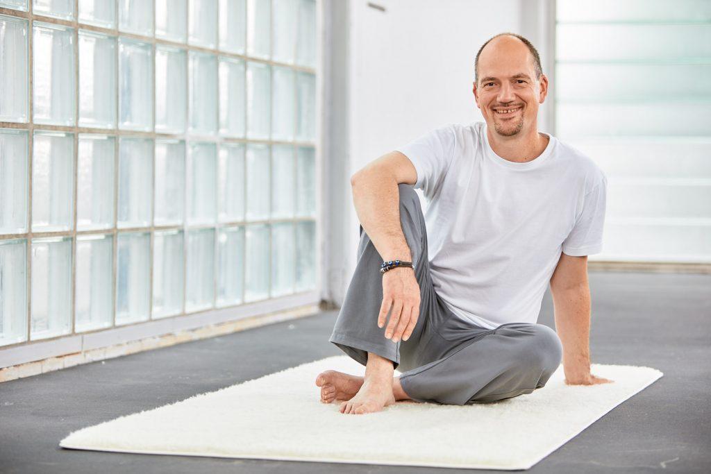 Yogalehrer Jürgen Laske