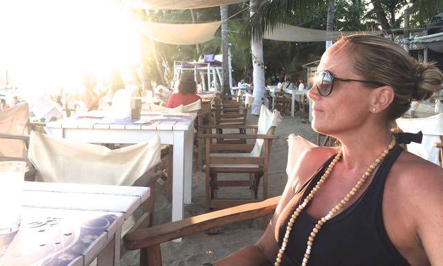 Buddha statt Botox - Autorin Gaby Brandl reist gerne um die Welt. Hier in Costa Rica