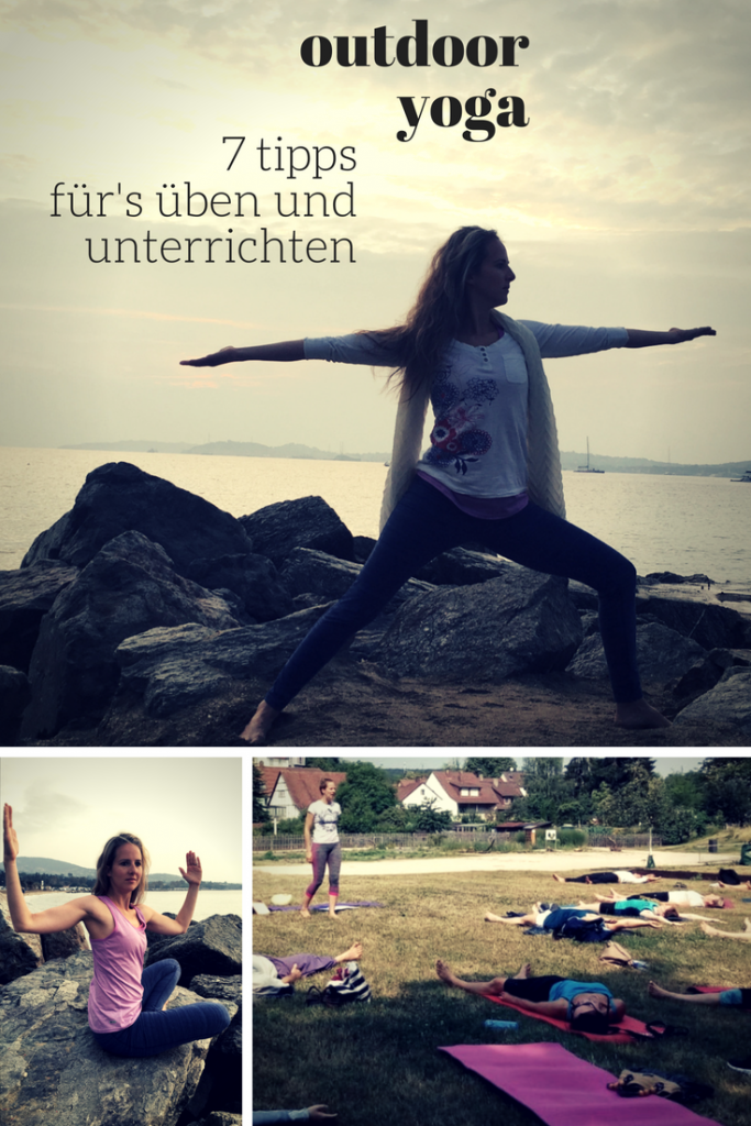 Tipps für Outdoor-Yoga-Session