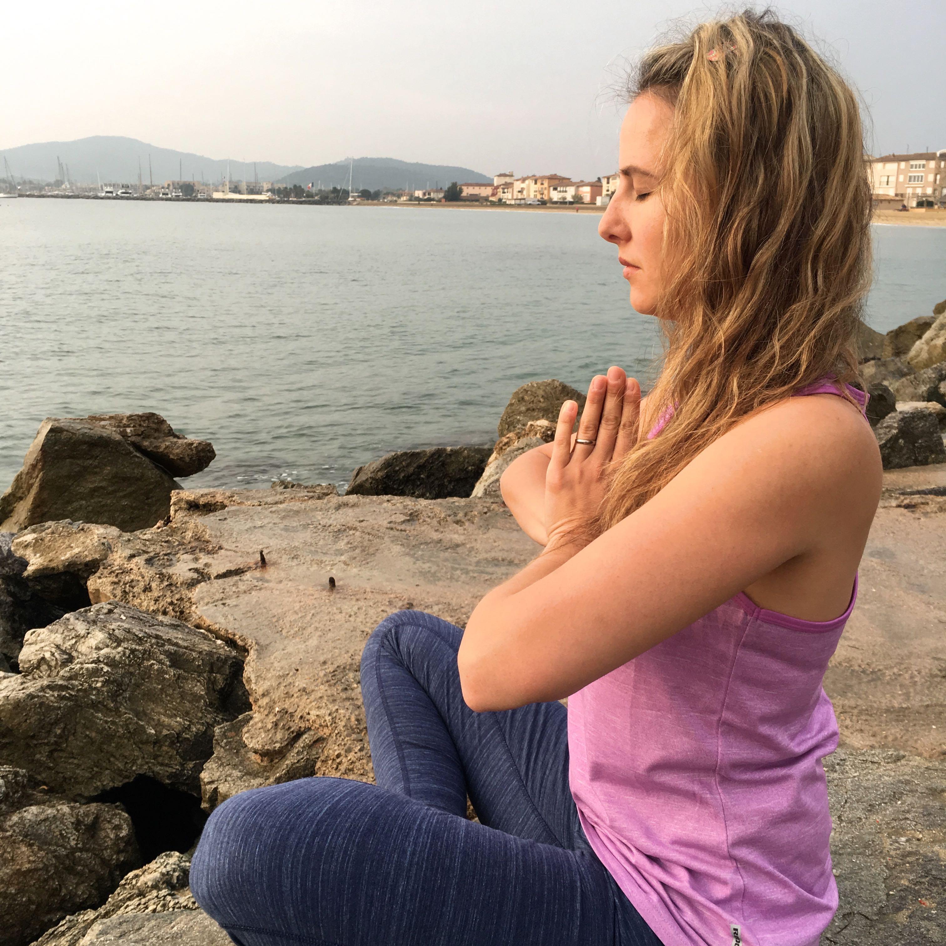 Komm zur Ruhe - beim Outdoor-Yoga