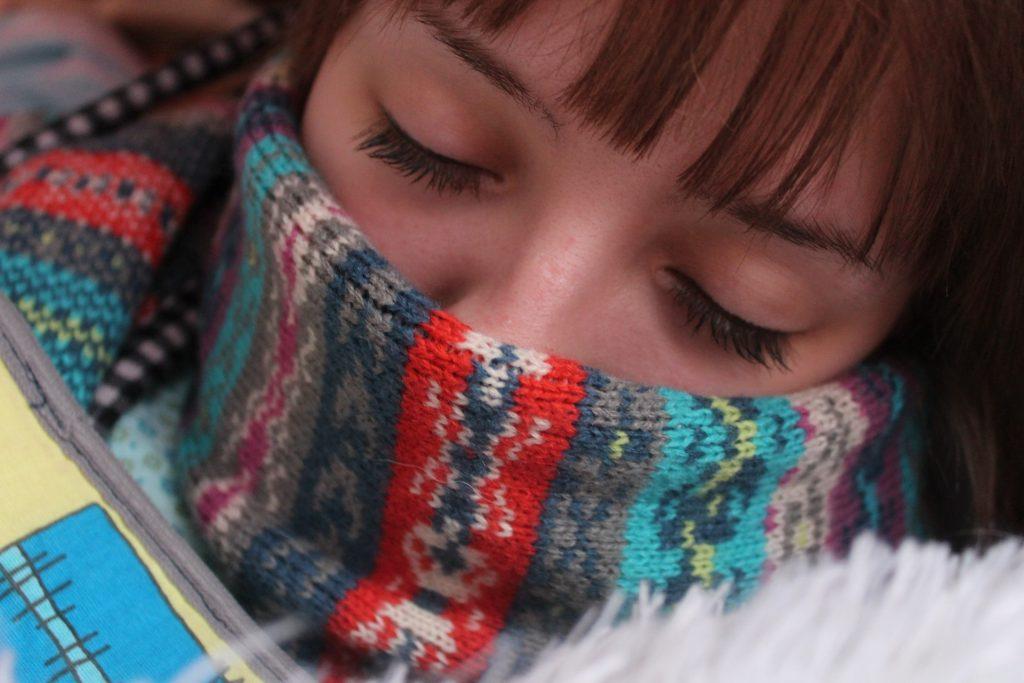 müde und krank