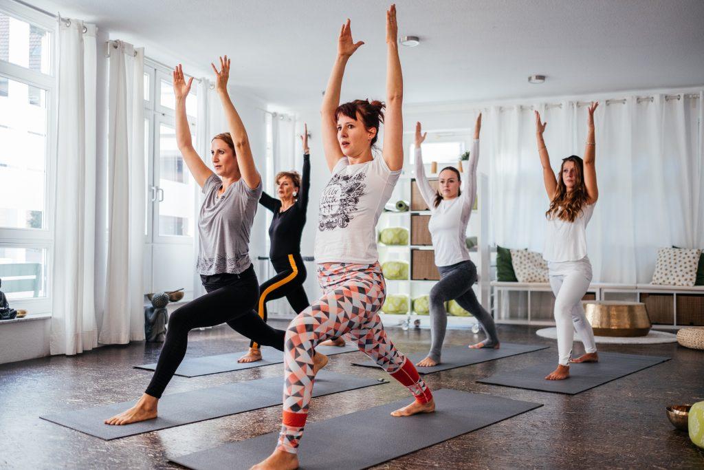Energie durch Yoga